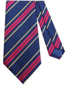 RLC Royal Logistic Corps Regimental Military Striped Tie